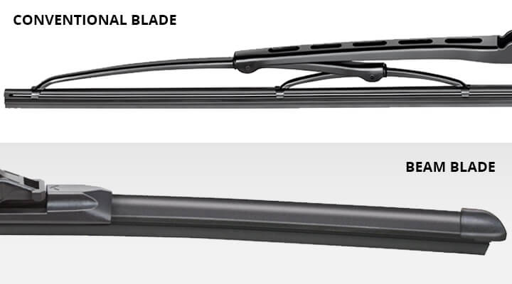 Beam Wipers vs Conventional Wipers